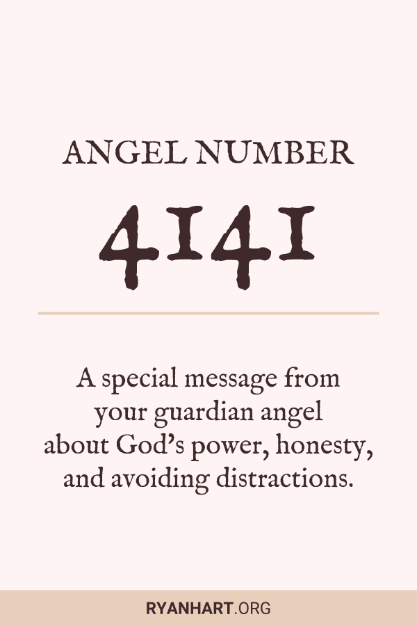 3 Surprising Meanings of Angel Number 4141 | Ryan Hart