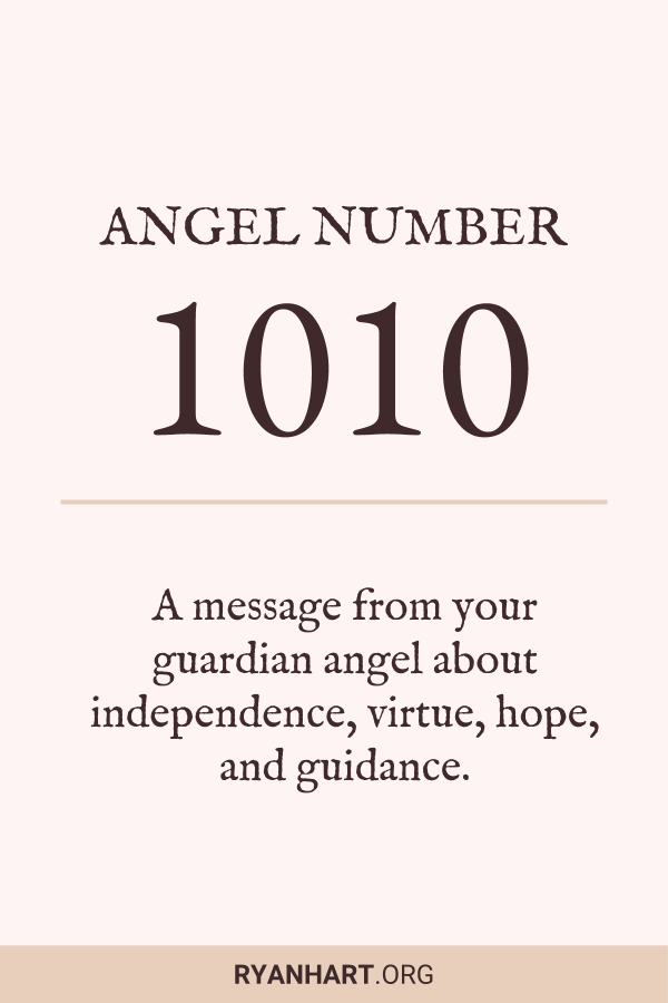 Image of Angel Number 1010