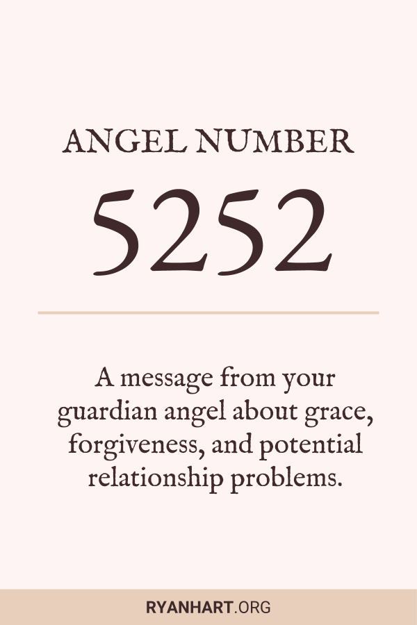 Image of Angel Number 5252
