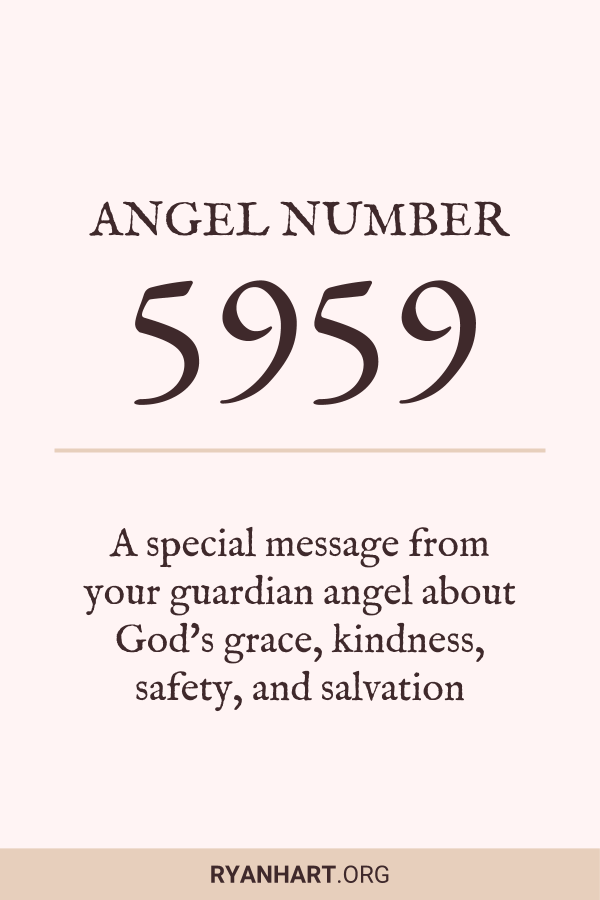 3 Magical Meanings of Angel Number 5959 | Ryan Hart
