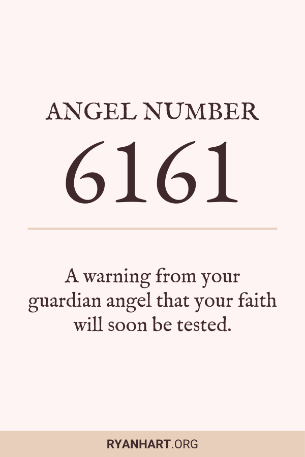 Image of Angel Number 6161