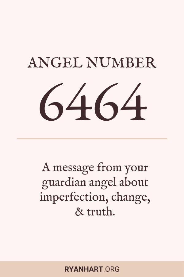 Image of Angel Number 6464