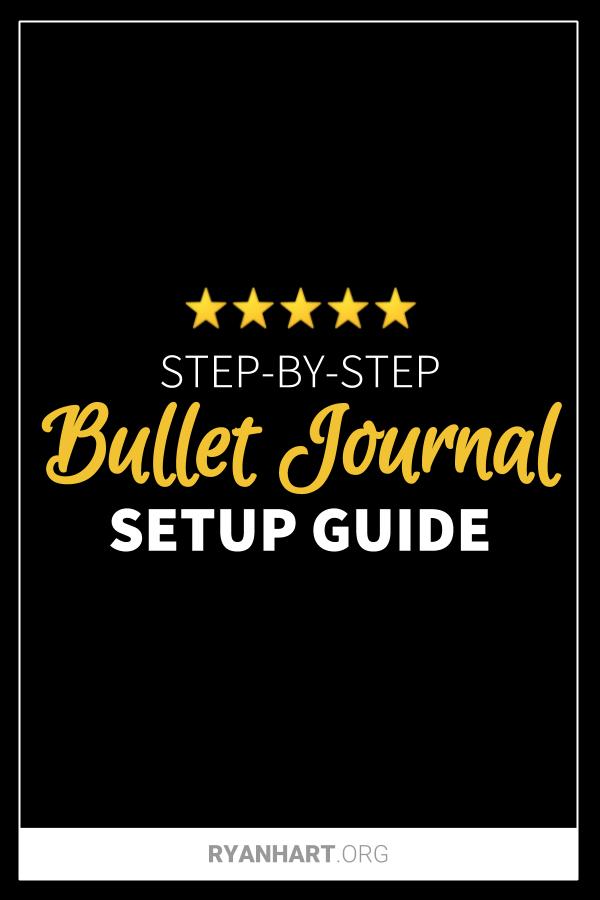 Bullet Journal Setup Guide