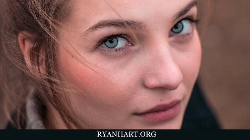 Woman with Grey Eyes