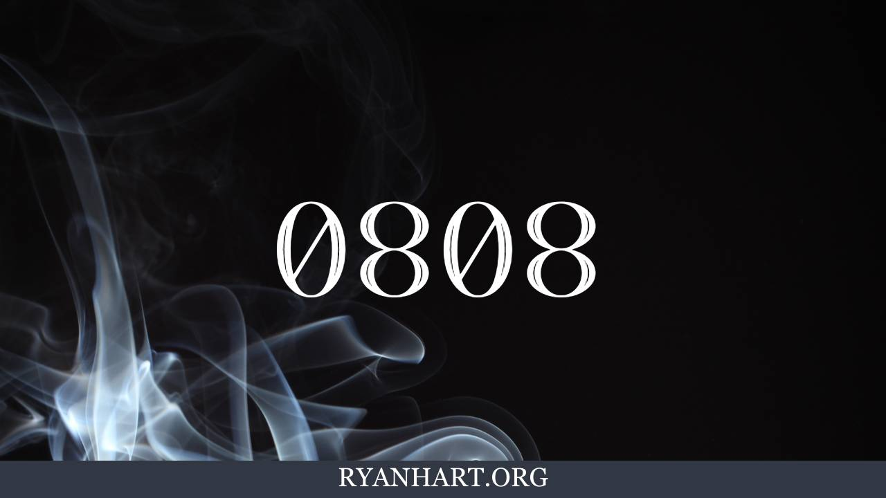 3 Encouraging Meanings of Angel Number 0808 | Ryan Hart