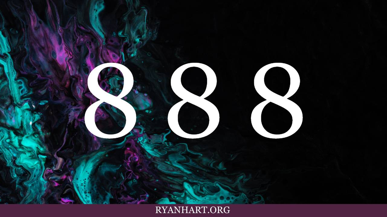 5 Special Meanings of Angel Number 888 | Ryan Hart