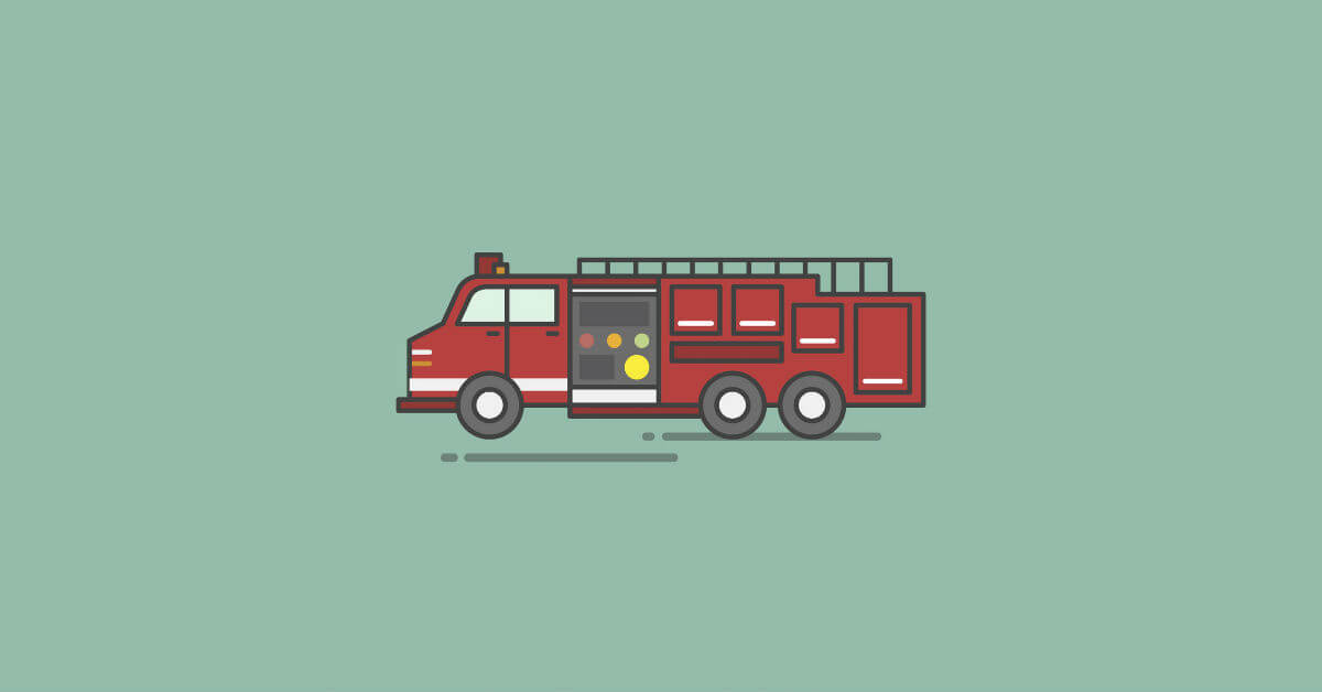 Fireman's Prayer Illustration