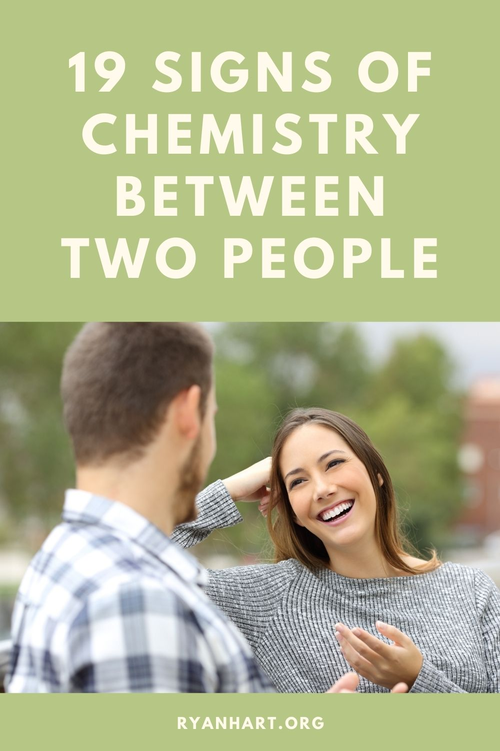 Signs of Chemistry Between Two People