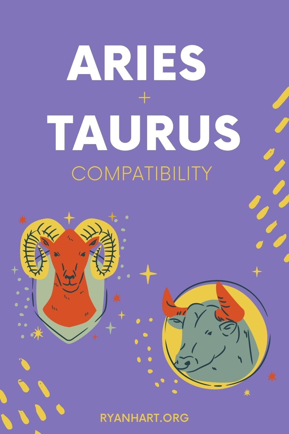 Aries and Taurus Zodiac Signs